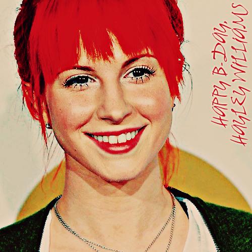 Hayley Williams Birthday