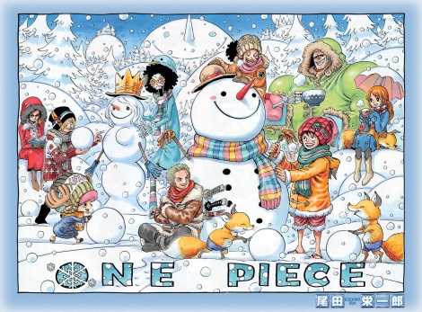 One Piece Anime Christmas