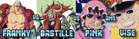 Franky vs Marine vs Pink&Vise