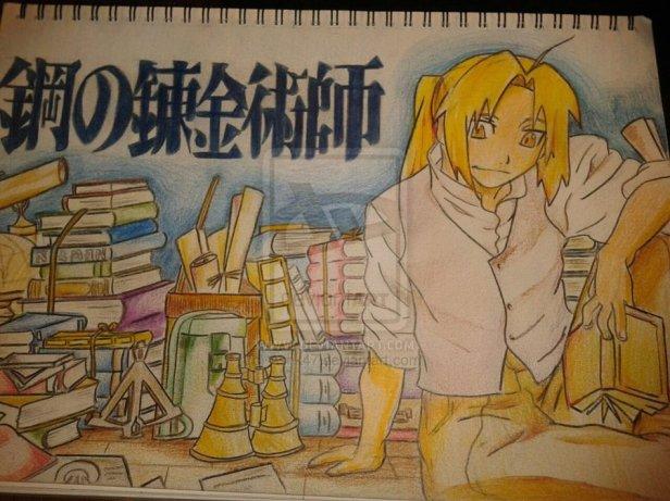 Edward Elric a.k.a The Fullmetal Alchemist