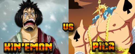Kinemon vs Pica