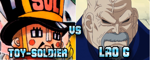 Toy Soldier vs Lao G