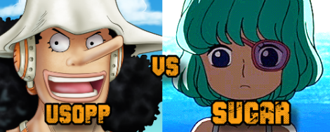Usopp vs Sugar