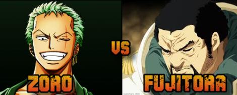 Zoro vs Fujitora