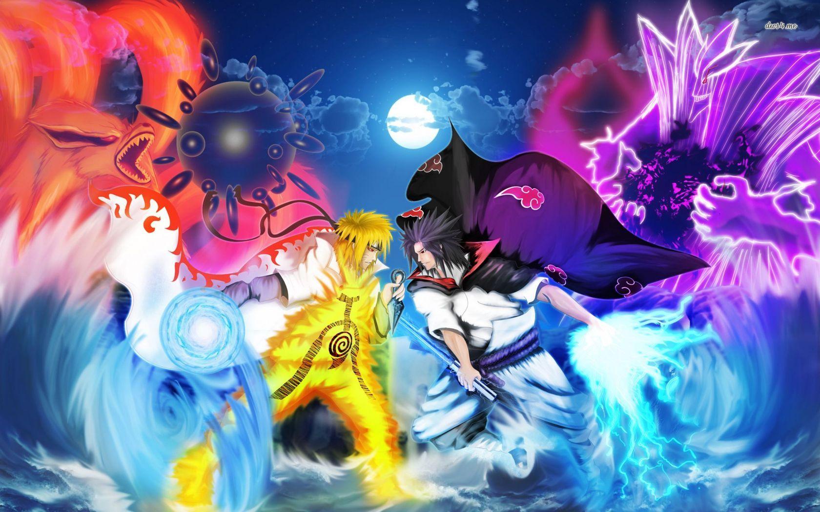 Simple Wallpaper Naruto Friend - sasuke-vs-naruto  Pic_99569.jpg
