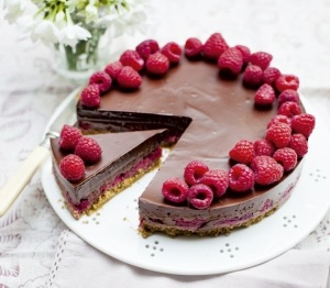 1.Choocolate and Raspberry pie