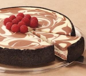 2.Chocolate cheesecake