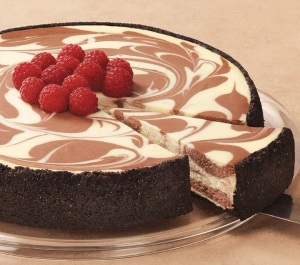 2.Chocolate cheesecake