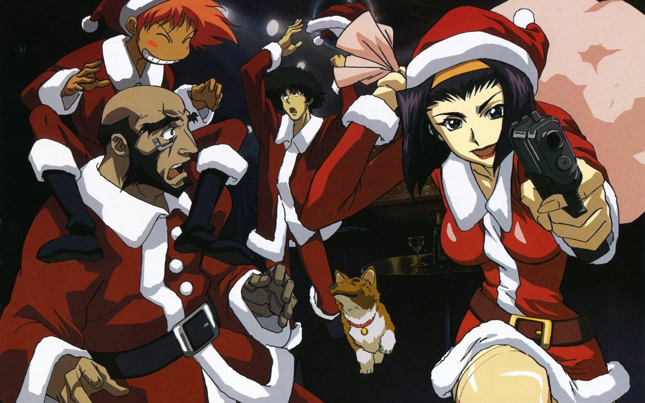 12 Days of Anime Christmas | Sleeping Geeks