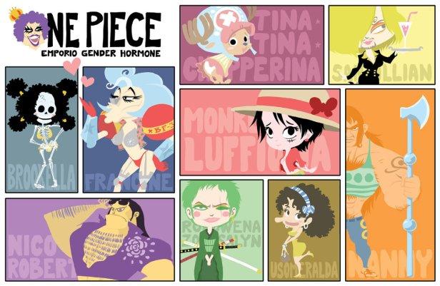 One Piece Gender switch