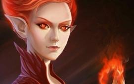 redhead elf