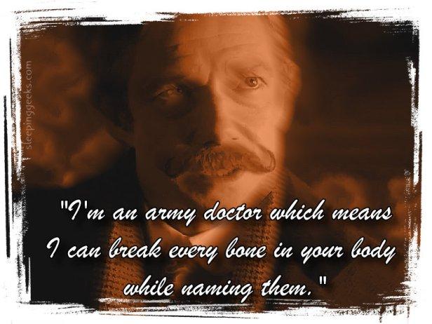 Sherlock Army Doctor Watson