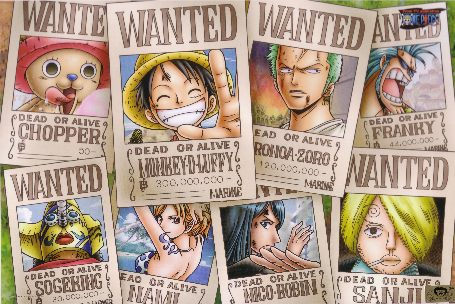 one_piece_wanted_posters